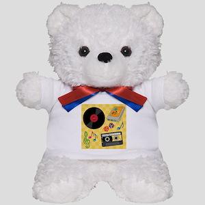 Retro Music Collection Teddy Bear