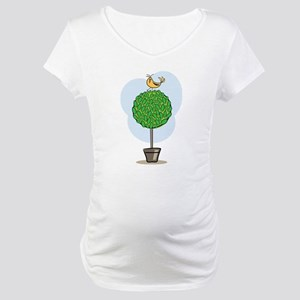 Tree Bird Maternity T-Shirt
