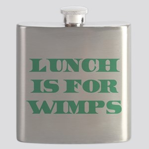 Lunch Is For Wimps Flask