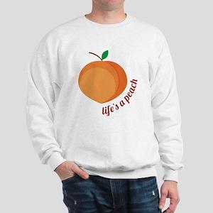 Life's a Peach Sweatshirt