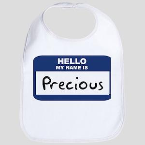 Hello: Precious Bib