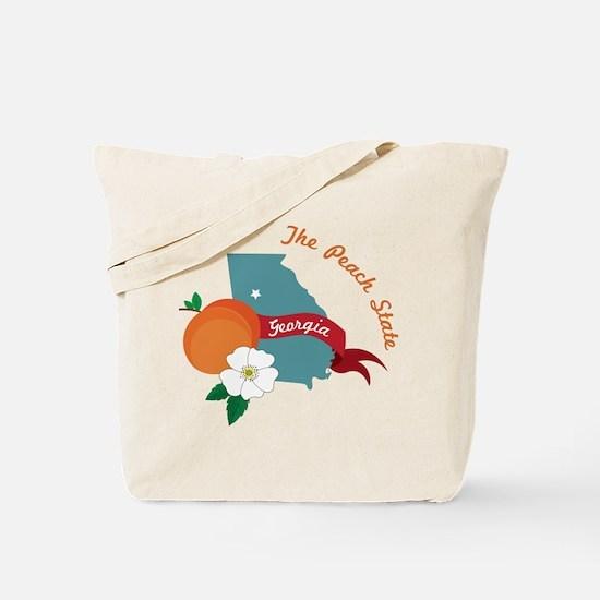The Peach State Tote Bag