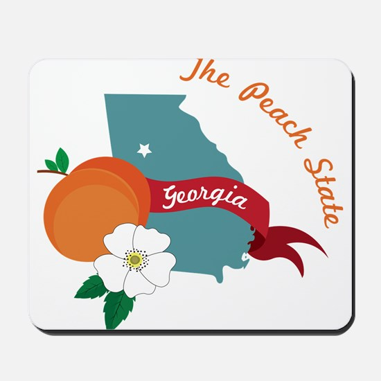 The Peach State Mousepad