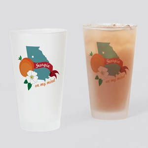 Georgia On My Mind Drinking Glass