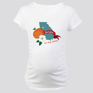 Georgia On My Mind Maternity T-Shirt