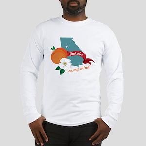 Georgia On My Mind Long Sleeve T-Shirt