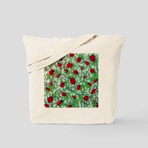 Pillow Ladybug Tote Bag