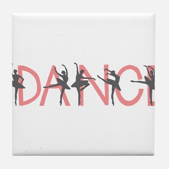 Dance Tile Coaster