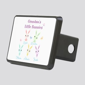 Grandmas little bunnies custom Hitch Cover