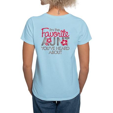 Favorite Aunt Women's Light T-Shirt
