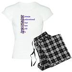 Zebra Autism Acrostic Poem Pajamas