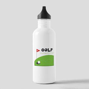 A HOLE Lot of Fun! Water Bottle