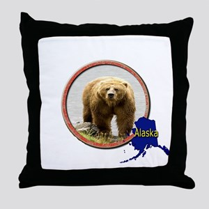 Alaska! Throw Pillow