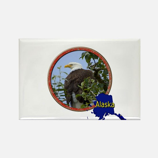 Alaska! Rectangle Magnet