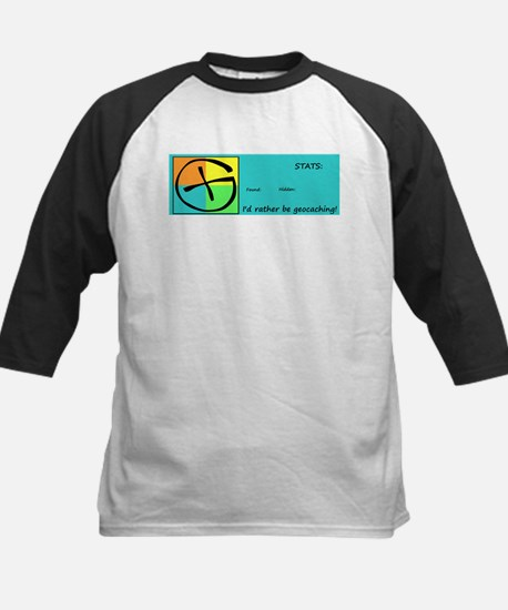 I'd rather be Geocaching! Baseball Jersey