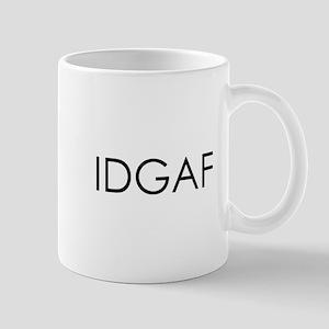 idgaf10x10 Mug
