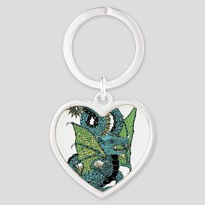 Wyvern Grotesque Heart Keychain