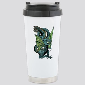 Wyvern Grotesque Stainless Steel Travel Mug
