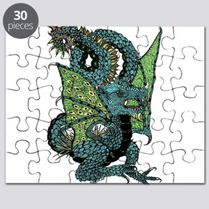 Wyvern Grotesque Puzzle