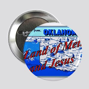 """Land of meth and jesus 2.25"""" Button"""