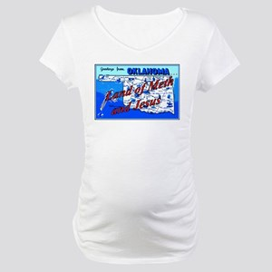 Land of meth and jesus Maternity T-Shirt