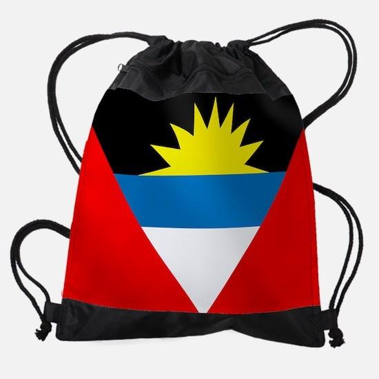 Antigua and Barbuda Flag Drawstring Bag