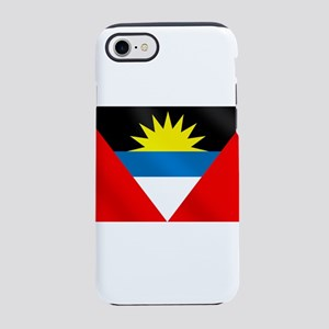 Antigua and Barbuda Flag iPhone 7 Tough Case