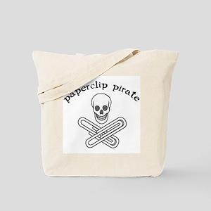 """Paperclip Pirate"" Tote Bag"