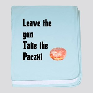 Take the Paczki baby blanket
