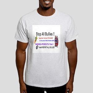 Stop All Bullies Light T-Shirt