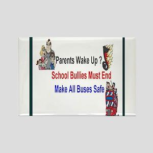 School Bullies Rectangle Magnet