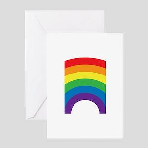 Gay Rainbow Greeting Card