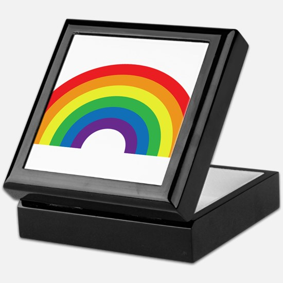 Gay Rainbow Keepsake Box