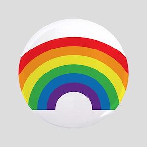 """Gay Rainbow 3.5"""" Button"""