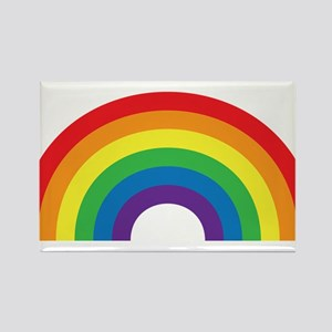 Gay Rainbow Rectangle Magnet