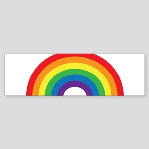 Gay Rainbow Bumper Sticker