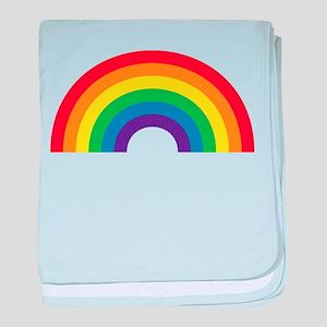 Gay Rainbow baby blanket