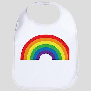 Gay Rainbow Bib