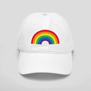 Gay Rainbow Baseball Cap