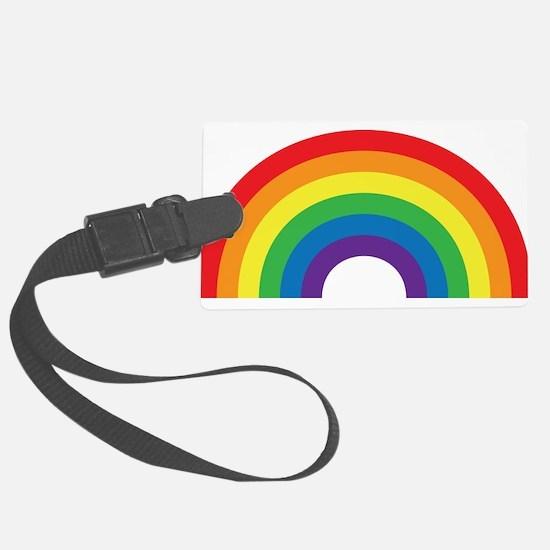 Gay Rainbow Luggage Tag