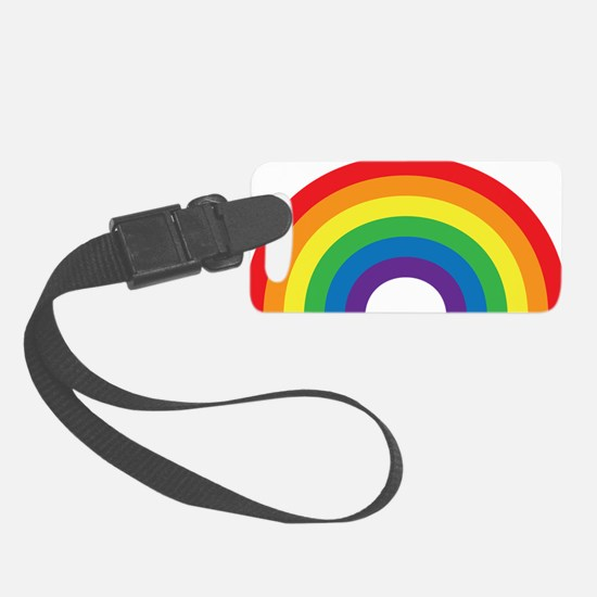 Gay Rainbow Luggage Tag