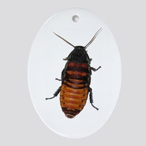 Roaches Oval Ornament
