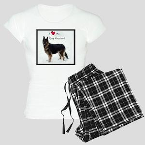 I heart my King Shepherd Pajamas