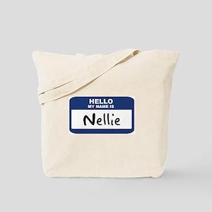 Hello: Nellie Tote Bag