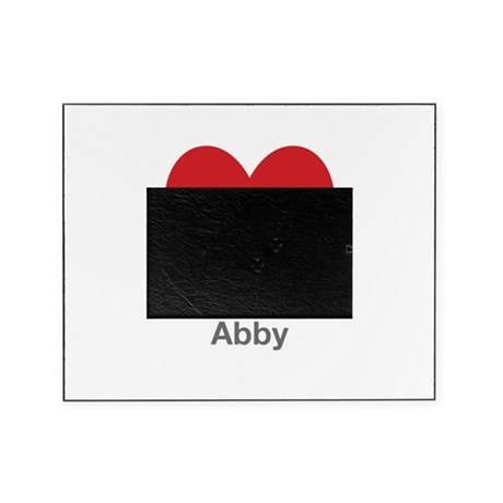 Abby Big Heart Picture Frame by UniqueGirlsNames59