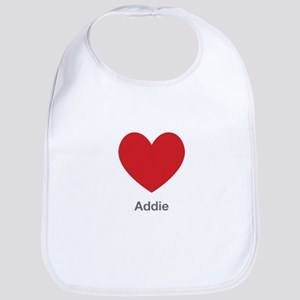 Addie Big Heart Bib