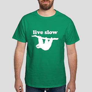 Live Slow Sloth T-Shirt