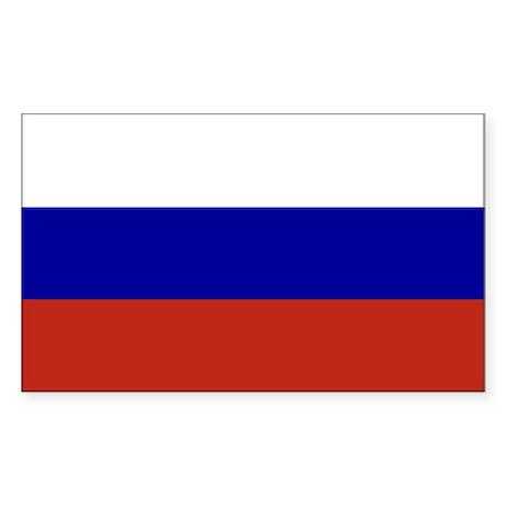 Russian Flag (Rectangular)