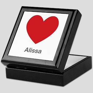 Alissa Big Heart Keepsake Box