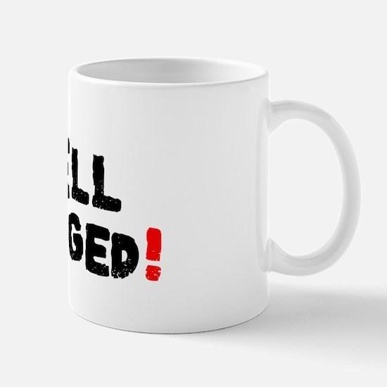 WELL SLUGGED! Small Mug